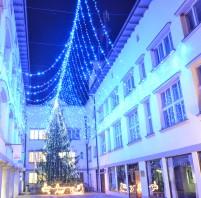 Christmas Tree in Tržič, version 1