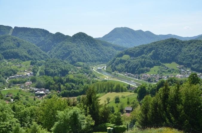 View from the Castle   AnnainSlovenia.wordpress.com