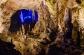 Glimpse of a Christmas Tree inside of Postojna Cave, Slovenia