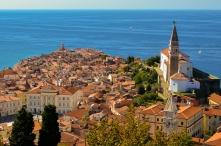 Sunny Day at the Slovenian Coast
