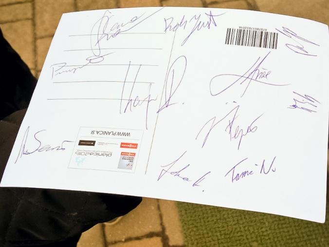 Ski Jumping SLO Team signatures 2016   AnnainSlovenia@wordpress.com