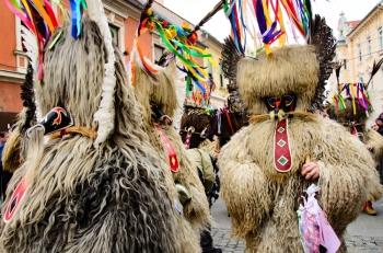 Parade of Kurenti in Ptuj | AnnainSlovenia@wordpress.com