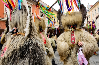 Parade of Kurenti | AnnaInSlovenia.wordpress.com