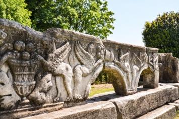 Remains in Rimska Nekropola
