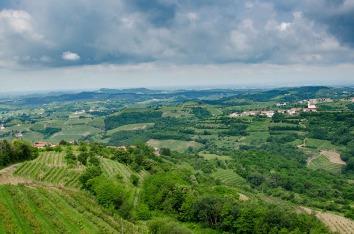 Landscape of Goriska Brda