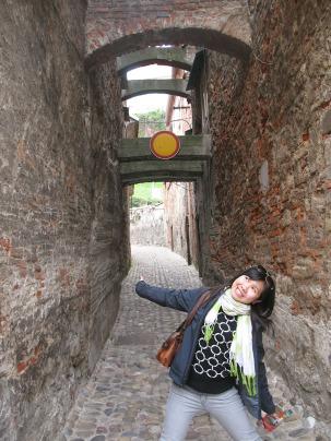 Walking in Ptuj