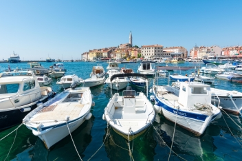 View of Rovinj from Marina