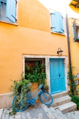 Lovely Street in Old Town Rovinj