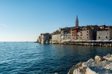 Old town Rovinj from the Port