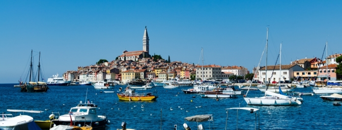 Beautiful sight of Rovinj