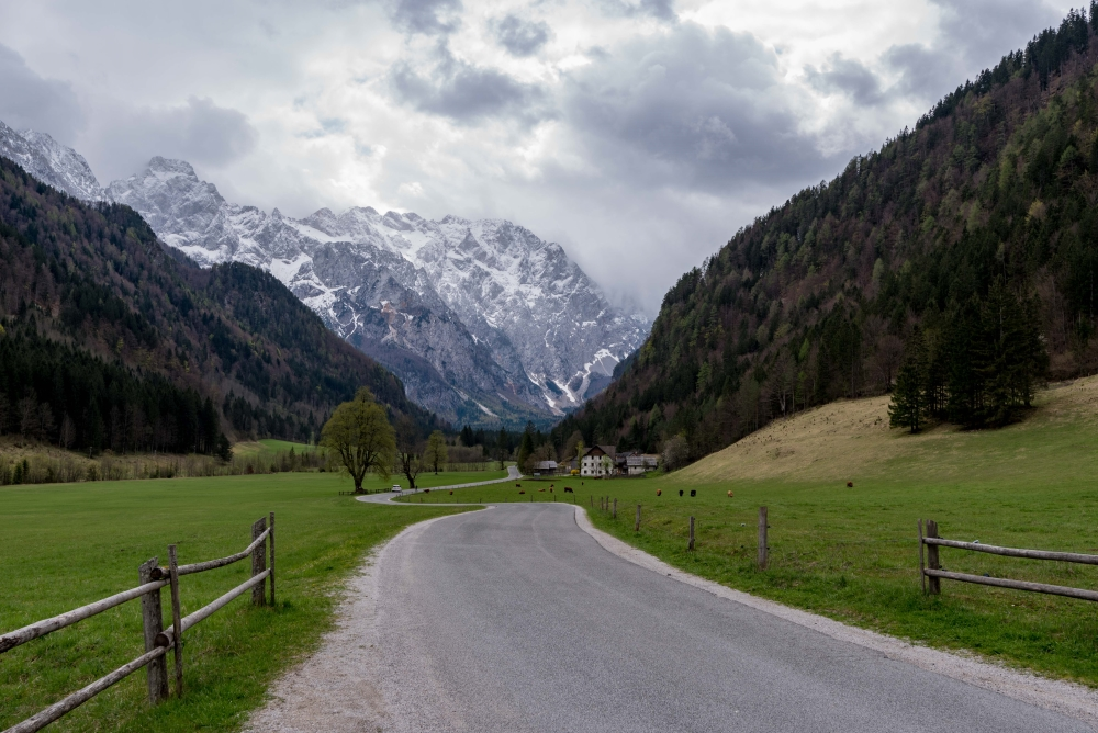 Entrance of Logarska Dolina